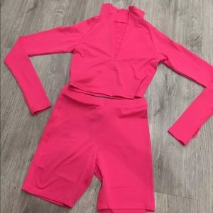 Fusia Barbie Two Piece